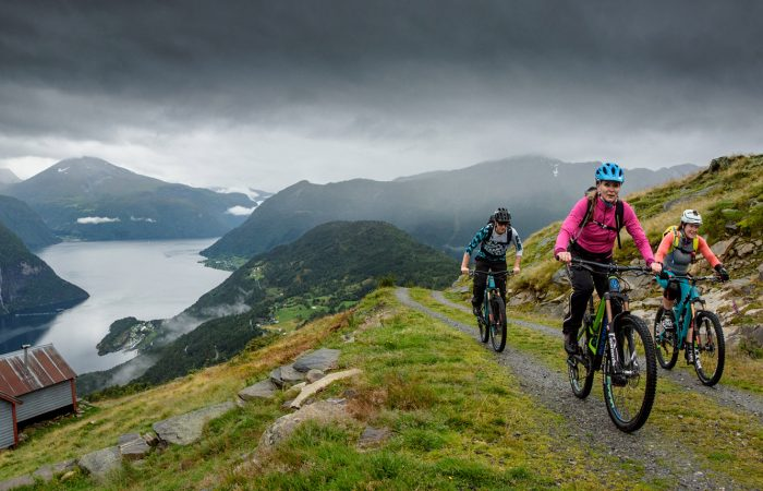 Fjord Mountain biking H & I Adventures